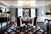 Dining Room / Dreaming of a dining room that turns a simple meal into an experience. Where it would feel a little like you were breaking the rules if you were to eat mac+cheese in there.