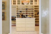 Closeted. / A neatly organized closet or pantry is essential to a harmonious, functional home.