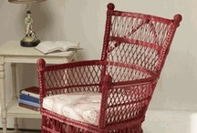 Red Wicker / Red Red Wicker / by Wicker Paradise