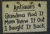 Antiques / by Heather Wagner