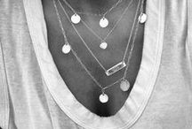 wear || jewels / All the lovely extras, necklaces, rings, all the bling.