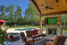 Outdoor Rooms / These aren't just porches and patios, they are truly outdoor living rooms.