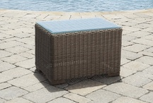 Wicker Tables / Wicker tables add the finish touch to your wicker furniture set, or can be used in great fashion to sprinkle that woven wicker effect and coordinate with other materials such as wood, aluminum or stone. Collection of end tables, wicker coffee tables and accessory table pieces.