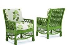 Green Wicker / Green wicker furniture designs for those looking to add a classic color to your wicker furniture. / by Wicker Paradise
