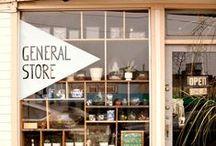 Shop windows & Stores