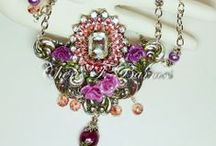 Mixed media jewelry/art / by Kathie Condon