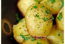 Vegetables/Potato/Bean sides. / by Isabella Mickelson