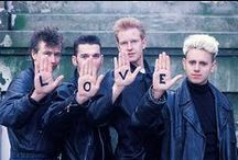 I'm from the eighties / New wave, cold wave, madchester, punk, haircuts, black and white and random dark stuff.