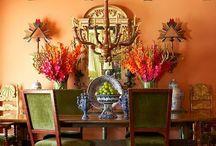 Boho Home Decor. Dinning room / .