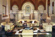 Boho Home Decor. Living room / .