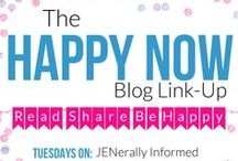 Best of the Happy Now Link-Up / The best links shared from the Happy Now Link-Up. Frequently featuring recipes, home decor, holiday crafts, and DIY projects,