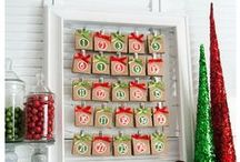Christmas :: Advent / Celebrate the countdown to Christmas with these fun and creative Advent ideas.