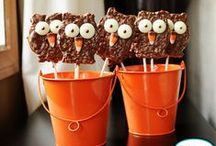 Party :: Owl / Owl treats, printables, party ideas and more. / by Jen & Sia   Thrifty NW Mom