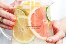 Iced Tea & Punch Recipes / Iced Tea Recipes | Punch Recipes | Ice Cube Ideas | Fruit Drink Recipes
