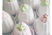 """Tea at my ❉ Vintage Kitchen / For more Vintage Loveliness check out my """"Baking Day at Pink Piccadilly Pastries"""" board!"""