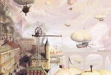 Steampunk Love / Everything steampunk: art, jewelry, clothing, etc.