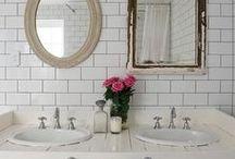 Rub-a-Dub-Dub / i'm cleanin' up with these bathroom design ideas.