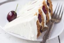 TeaRoom Flavors ✻ Cherry / This board is full of lovely Cherry Treats for Tea or Brunch!