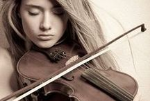Violin & Music / The violin is the most beautiful and elegant of instruments    Evelynnkate88.blogspot.com  / by Kaylee Lanier