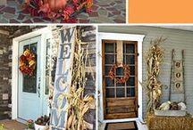 Holiday Stuff: Fall: Decor / Decorations using Fall Stuff