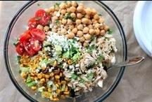 { salads & quinoa }