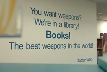 Books Will Save The World / Teacher-y things.