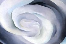 Classic Art / Masters / Classic artworks by some of my fave artists: Georgia O'Keeffe,  Vincent Van Gogh, Andy Warhol and so many others....