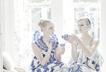 Blue Willow ☕️ Tea Room / Cups of Tea, Delicious Desserts and Beautiful Blue China!