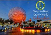 Disney Travel Tips / Ways to save money on a vacation to Disneyland or Walt Disney World & more.