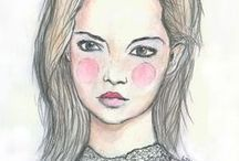 Portraiture / All mediums and styles.