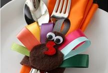Turkey Day / A board for Thanksgiving ideas.. Gobble Gobble!!  / by Casey Parker