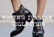 WOMEN'S ITALIAN / The limited Italian Collection