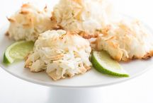 Baking Day ✻ Macaroons / Coconut Macaroon Recipes