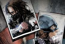 Cap, His Shield and His Sergeant / Pictures, quotes, etc that refer only to the First Avenger, Winter Soldier, and upcoming Civil War movies! / by Jenna