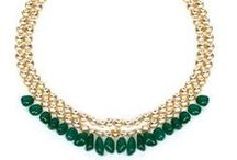 Just Shradha's / Elegant gold pleated jewellery with stunning details and designs
