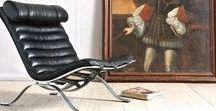 Antique & Midcentury Seating / Antique to Mid-Century Seating Design