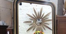 Reflections / Beautiful Antique and Mid-Century Mirrors.