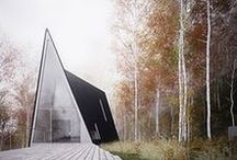 Architecture and landscaping inspiration / Architecture and outside spaces that inspire us.