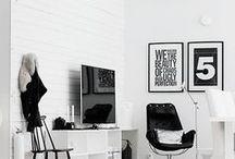 Einrichten & Wohnen / Einrichtungsideen für dein Zuhause. Viel skandinavisches und schwarz weiß.