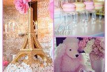 Parisian Party / Lots of ideas for the perfect Parisian themed party. Ooh la la!