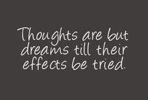 quotes / by Sabrina K.