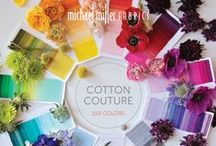 Cotton Couture / Silky, soft Michael Miller Fabrics solids. The very best. / by Michael Miller Fabrics