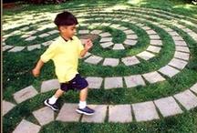 Kids Garden / Nourish the seeds of childhood with imaginative outdoor play.