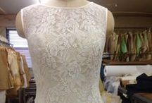 The BELLE Wedding Dress / Introducing BELLE! Imported French Chantilly Cotton Lace with a breezy all-cotton English Tulle skirt over Chiffon.  As shown $2950. / by The Cotton Bride