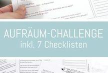 Printables & Freebies / Downloaden und ausdrucken, tolle Ideen für Deko und Organisation im Haushalt.