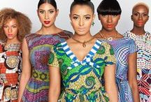 "• African Fashion • / ""Nothing but african prints"""