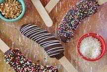 Kindergeburtstag Rezepte / Tolle Rezepte, die Kindern schmecken, lecker sind und für die Kinderparty ganz besonders aussehen. Viele Ideen, die auch für Mottopartys passen. Es darf aber auch mal etwas Obst oder Gemüse dabei sein...