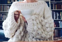 White thick Sweater