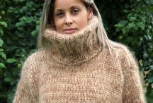 Brown thick Sweater