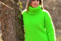 Green thick Sweater